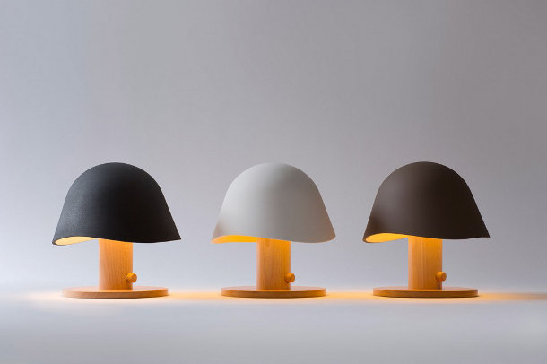 Mush Design Houten Tafellamp