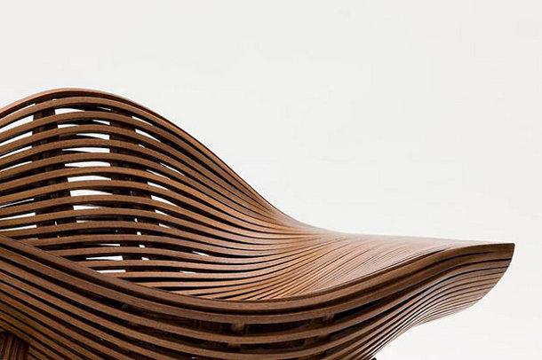 Eigentijdse stoel van hout eyespired - Wekelijkse hout ...
