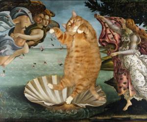 dikke-kat-beroemde-schilderijen