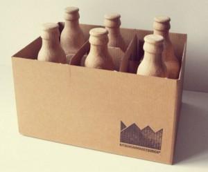 Houten bieropeners van Kitschcanmakeyourich