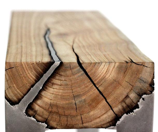 Opvallende meubels van aluminium en hout eyespired - Wekelijkse hout ...