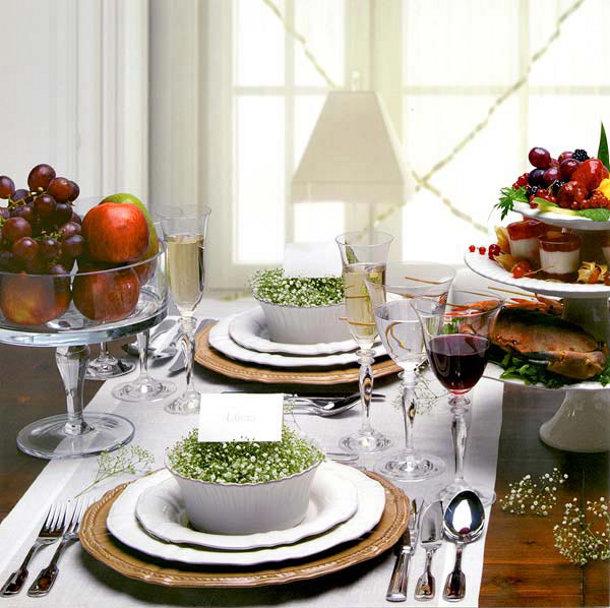 7 idee n voor een prachtig gedecoreerde tafel tijdens het kerstdiner eyespired - Home decoratie ideeen ...