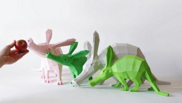papieren-dieren-sculpturen