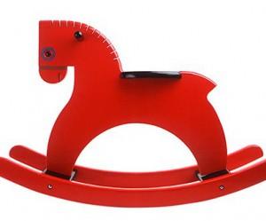 rood-houten-schommelpaard