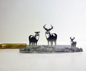 dieren-silhouetten-messen