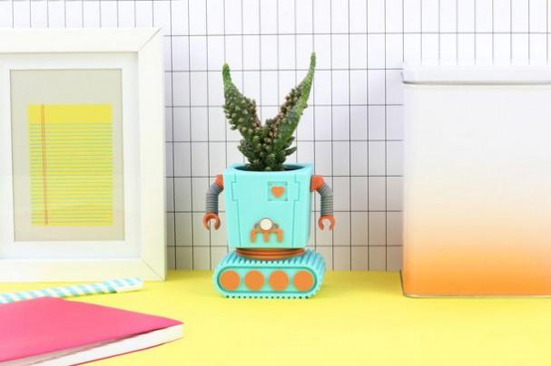 robot-bloempot-doiy