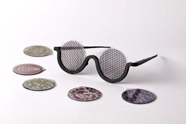 Bril Met Licht : Deze zonnebril stimuleert lsd hallucinaties met lenzen en filters