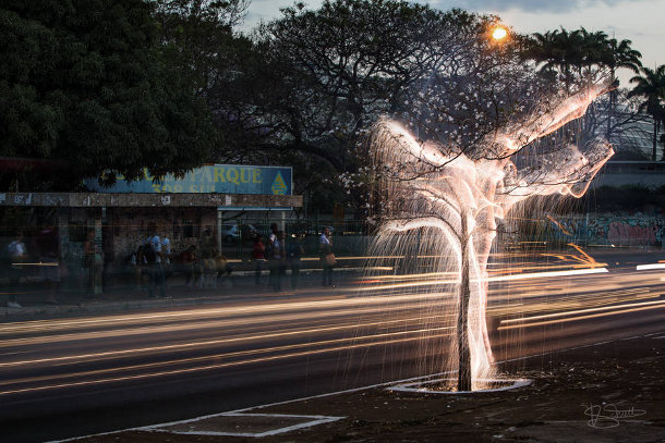 Fotograaf Schildert Met Licht In De Natuur En In Steden