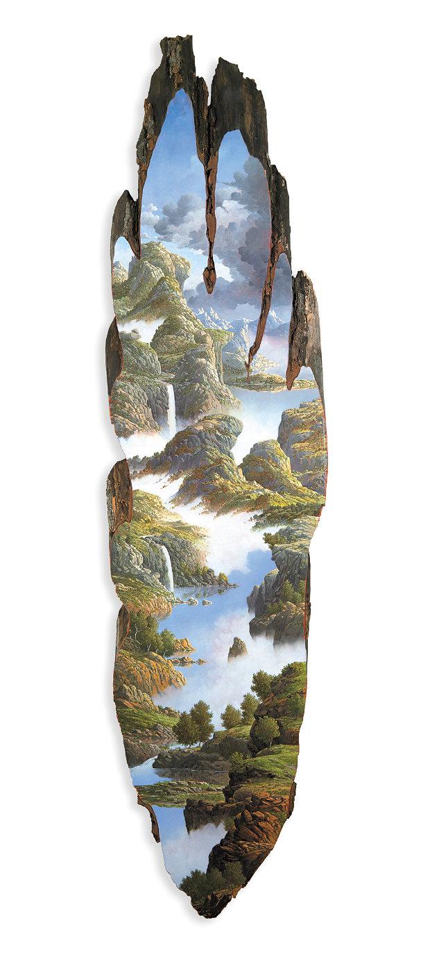 schilderingen-landschappen-boomstammen-5