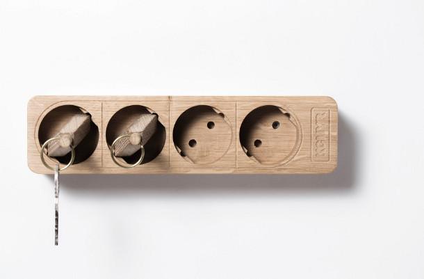 houten-stekkerdoos-sleutelhouder-2