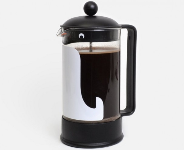 pinguin-french-press-cafetiere