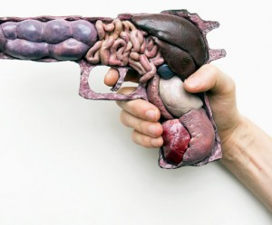wapens-sculpturen
