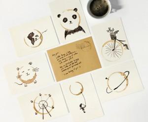 creatieve-kaarten-koffievlek
