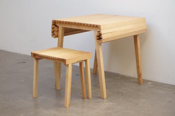 houten-uitschuifbare-design-tafel-5