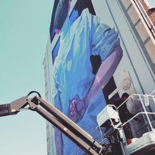 Meeting her parents nieuwe muurschildering van etam cru eyespired - Nieuw muurschildering ...