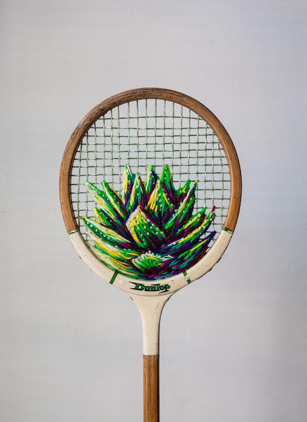 bloemen-borduren-tennisracket-2