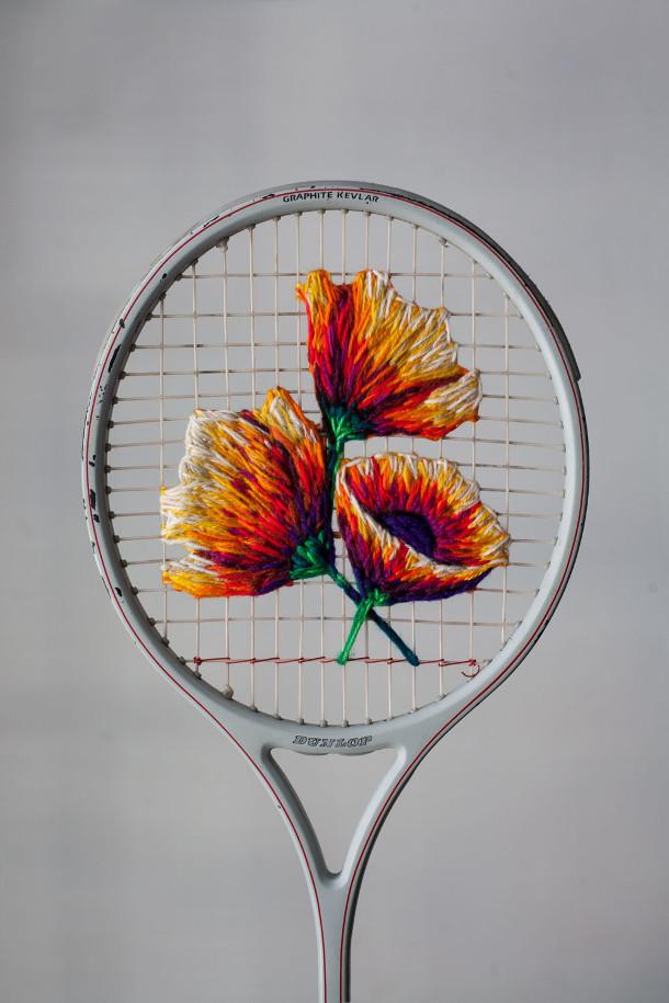 bloemen-borduren-tennisracket-3