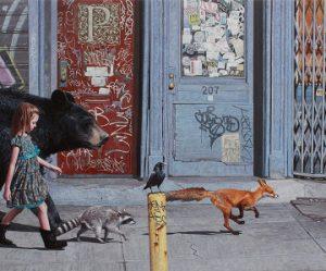 hyperrealistische-schilderijen-kinderen-dieren