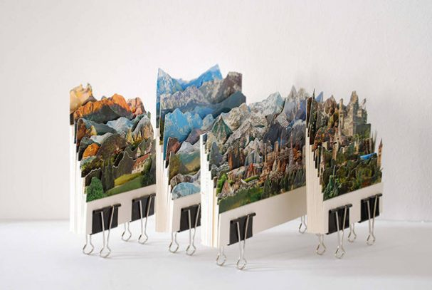 landschappen-ansichtkaarten