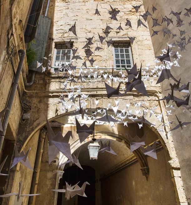 origami-vogels-binnenplaats-7
