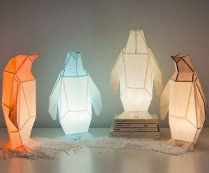 dieren-lampen-origami