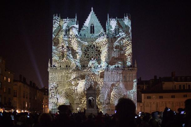 projecties-kathedraal