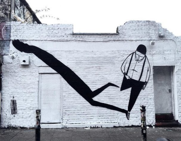 zwart-wit-muurschilderingen