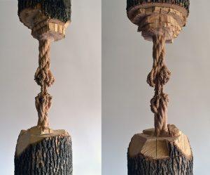 boom-sculptuur
