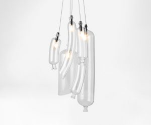 hanglamp in vorm gloeilamp