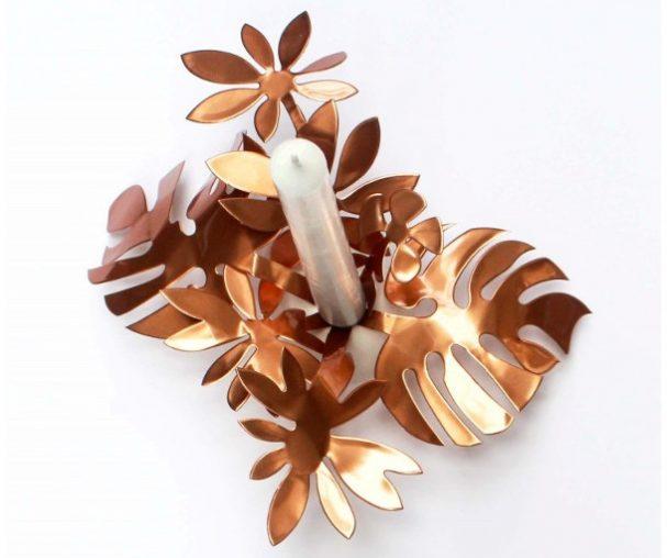 koperen-kaarsenhouder-bouquet