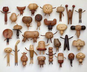 houten-cartoon-figuren