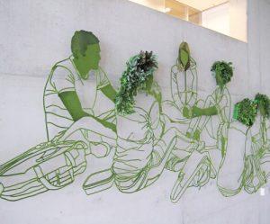 planten-muurschildering