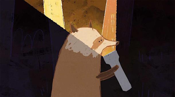 animatie-wasbeer-zaklamp