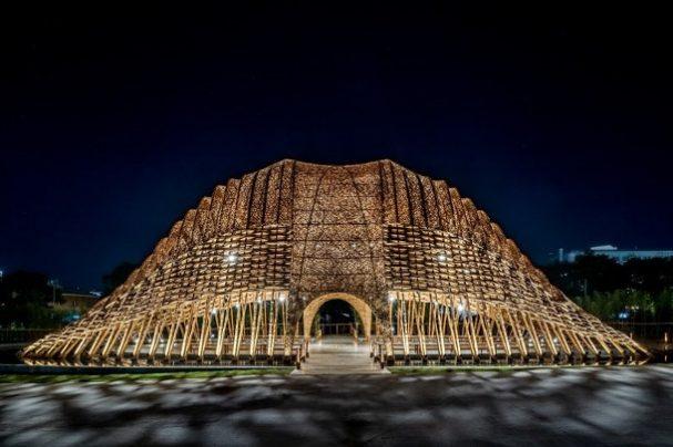 bamboe-paviljoen