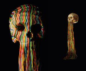 Kleurrijke-schedels