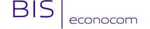 BIS-Econocom Logo transparante achtergrond