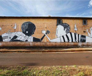 cartoon-muurschilderingen