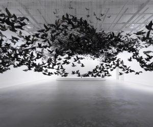 zwerm-porseleinen-vogels