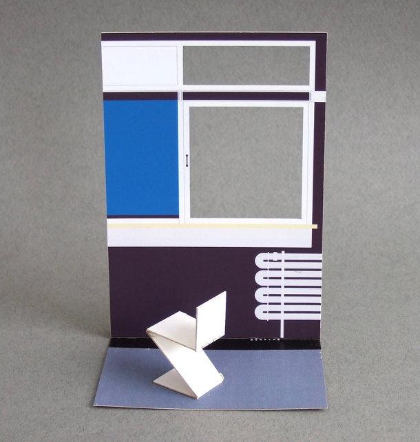 Beroemde Design Stoelen.Beroemde Papieren Stoelen In Het Klein 1 16 Eyespired