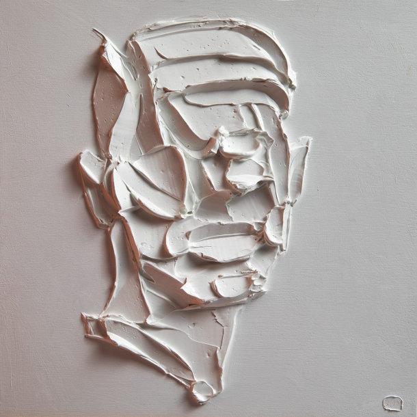 abstracte-portretten-witte-olieverf-3