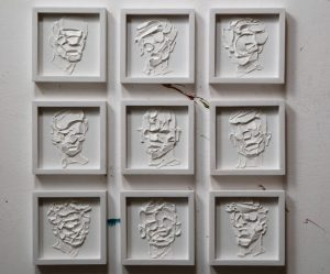 abstracte-portretten-witte-olieverf