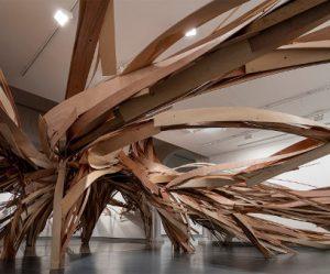 boom-sculptuur-linten