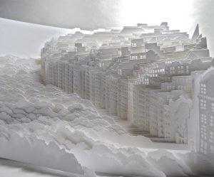 papieren-sculpturen-steden-landschappen