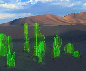 fluorescerende-acryl-cactussen