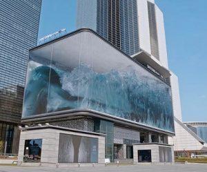 projectie-eindeloze-golven