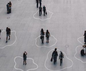 social-distancing-met-een-speels-lijnenspel