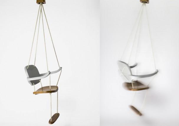 Schommel stoel