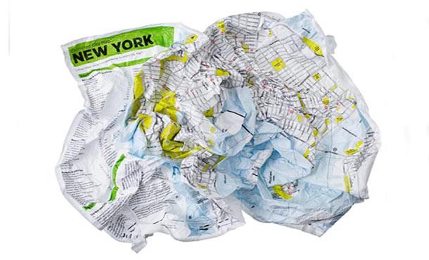 Palomar stadskaart van New York