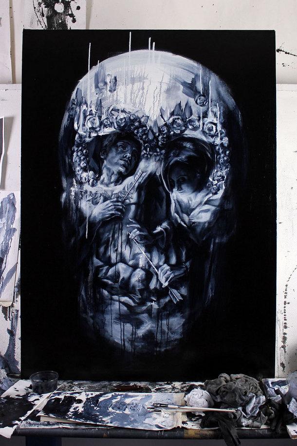Tom French - kunst dood