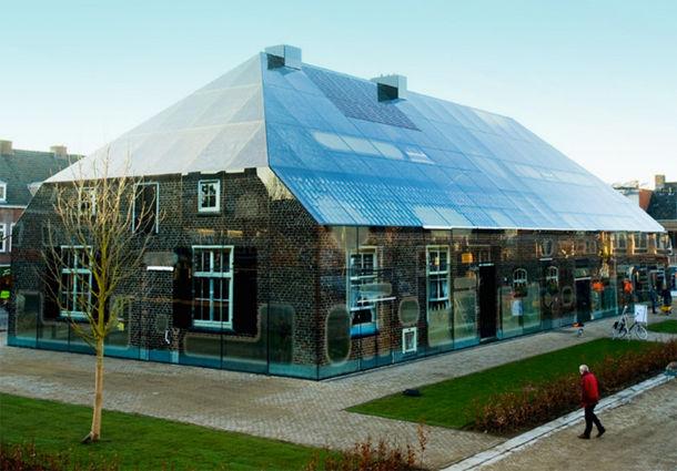 Glazen boerderij in Schijndel van MVRDV